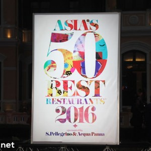 Asia's 50 Best Restaurants 2016