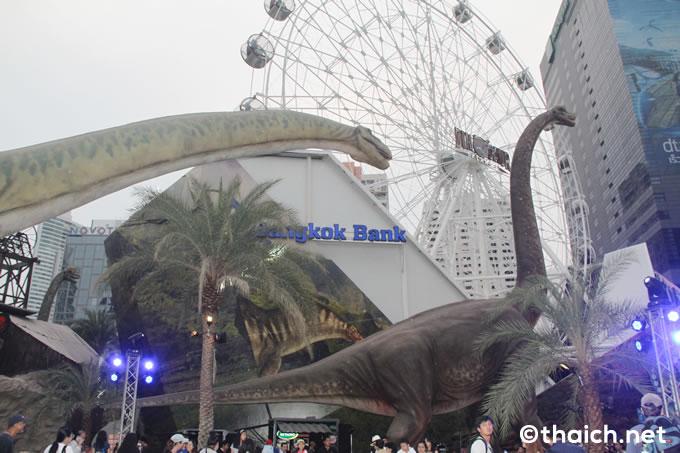 バンコクの恐竜パークが2018年4月20日に閉鎖、ショッピングセンター建設へ