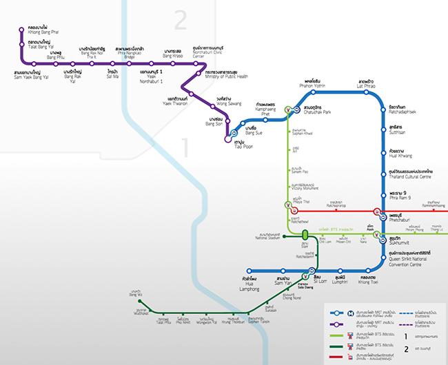 MRTパープルラインが2016年8月6日に開通