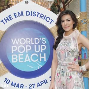 The EM District World's Pop-up beach 01
