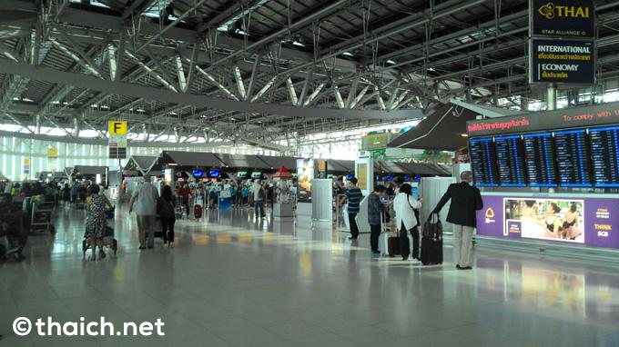旧正月はタイに中国人殺到で空港が大混雑の見込み、出発の3時間前に空港到着を推奨