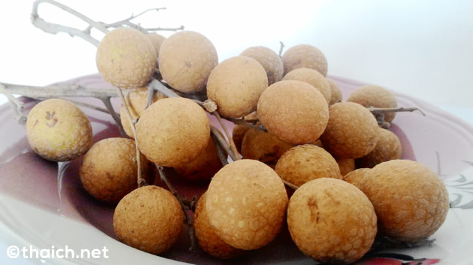 タイのフルーツ・ラムヤイが甘くて美味しくて止まらない