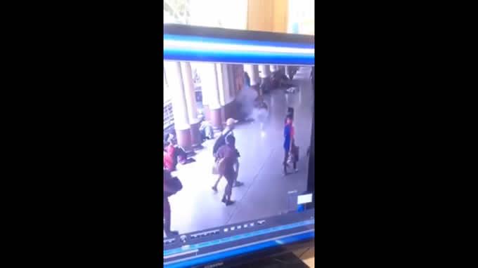 バンコク・ファランポーン駅で爆発!日本人の被害者はなし