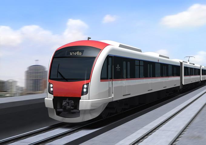 バンコクレッドライン建設プロジェクト受注、三菱重工業・日立製作所・住友商事が共同で