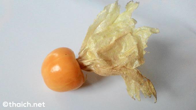 チェンマイ土産でもらったフルーツホウズキが良い香りで美味しい!