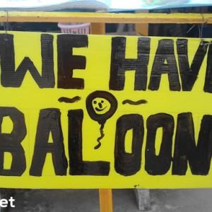 happy baloon