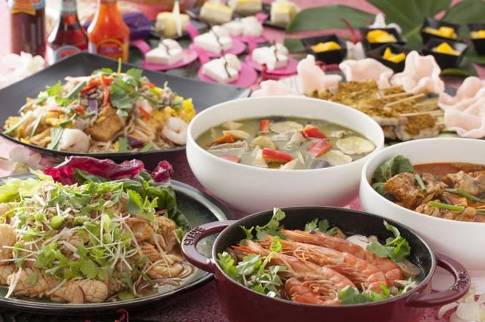 本格タイ料理ブッフェを提供、ホテル日航大阪「セリーナ」で「タイフードプロモーション」