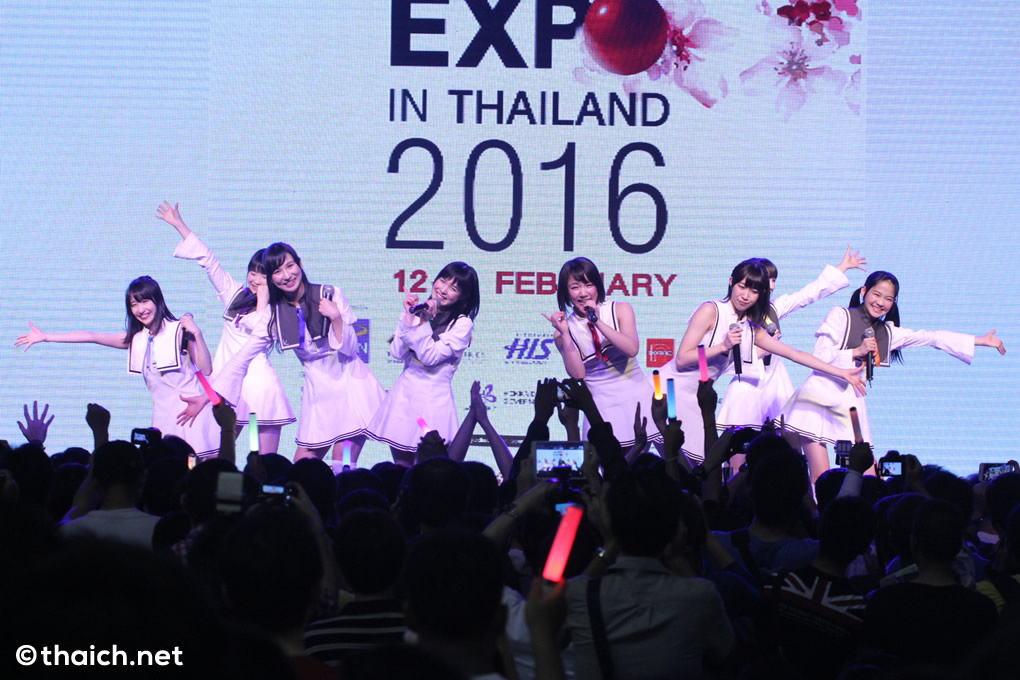 idolcollege japan expo in thailand 2016 34