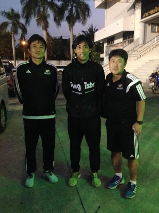 いとたくバンコクサッカー指導記