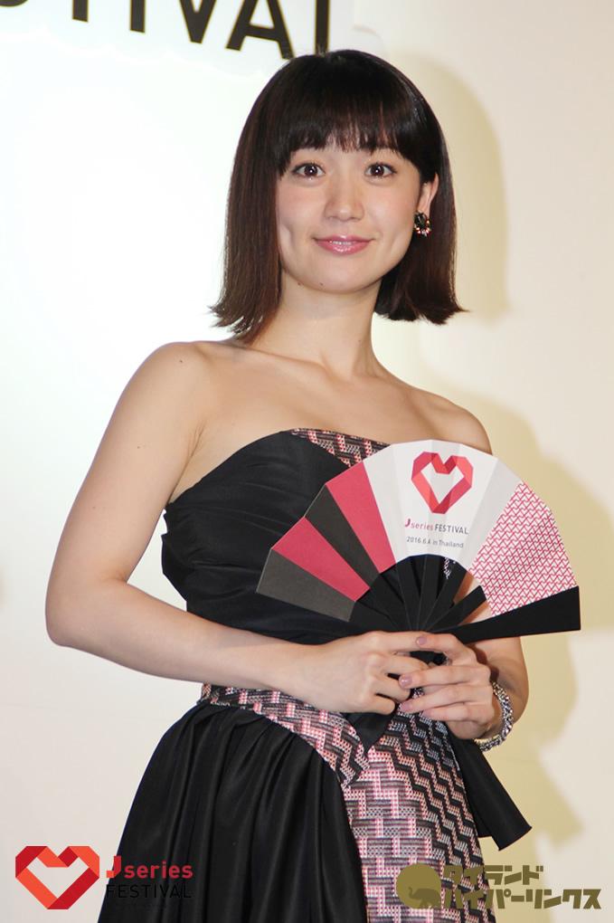 大島優子「タイ料理が好きで、特にトムヤムクンがお気に入りです。」[J SERIES FESTIVAL]