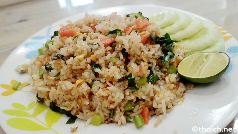 タイ風チャーハン・カオパットは当たり外れの大きいタイ料理