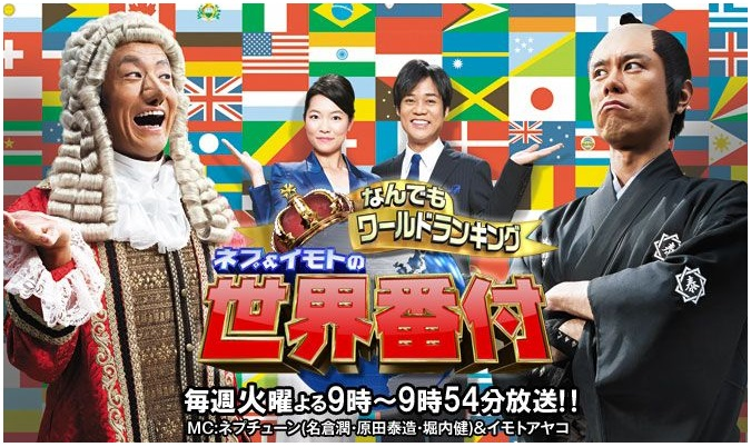 日本テレビ「世界番付」が放送終了