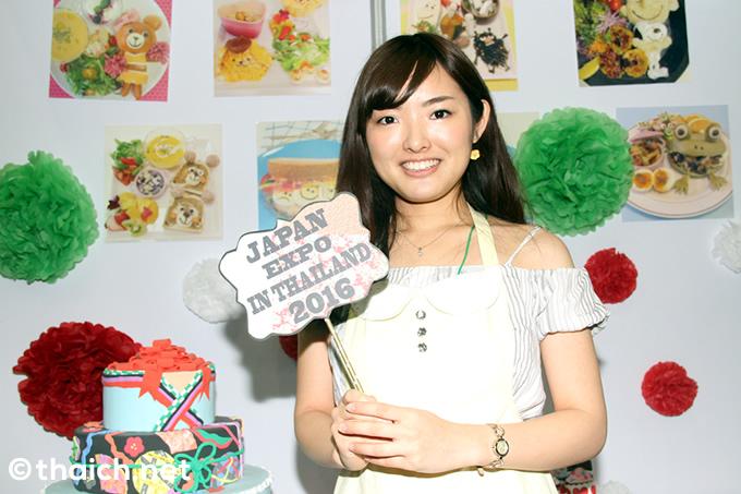 キャラ弁研究家 白井有沙さんに聞く[JAPAN EXPO IN THAILAND 2016]