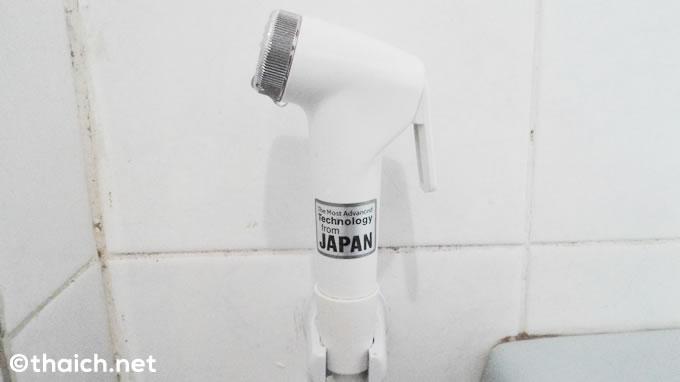 ラオスのトイレに日本のテクノロジーが使われていた!