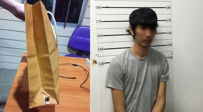タイ人女優がスカート盗撮被害、バンコク市内で犯人を現行犯逮捕