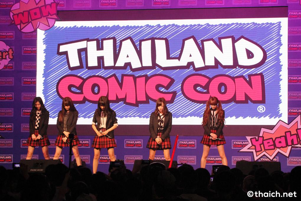 夢みるアドレセンス タイ人ファンの前でライブを披露[Thailand Comic Con 2016]
